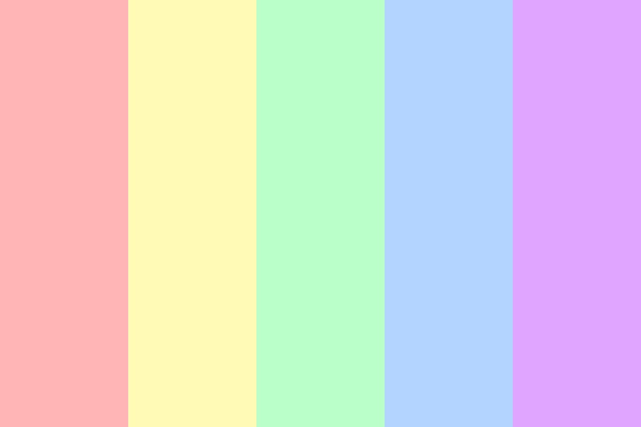 Perfectly Pretty Pastels Color Palette