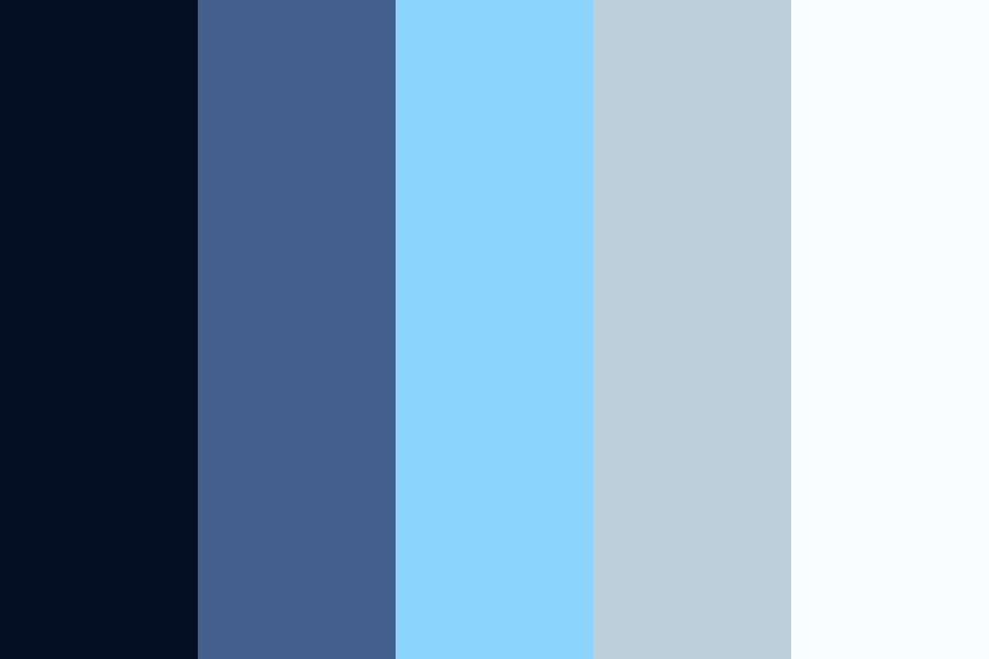Persona Blues Color Palette
