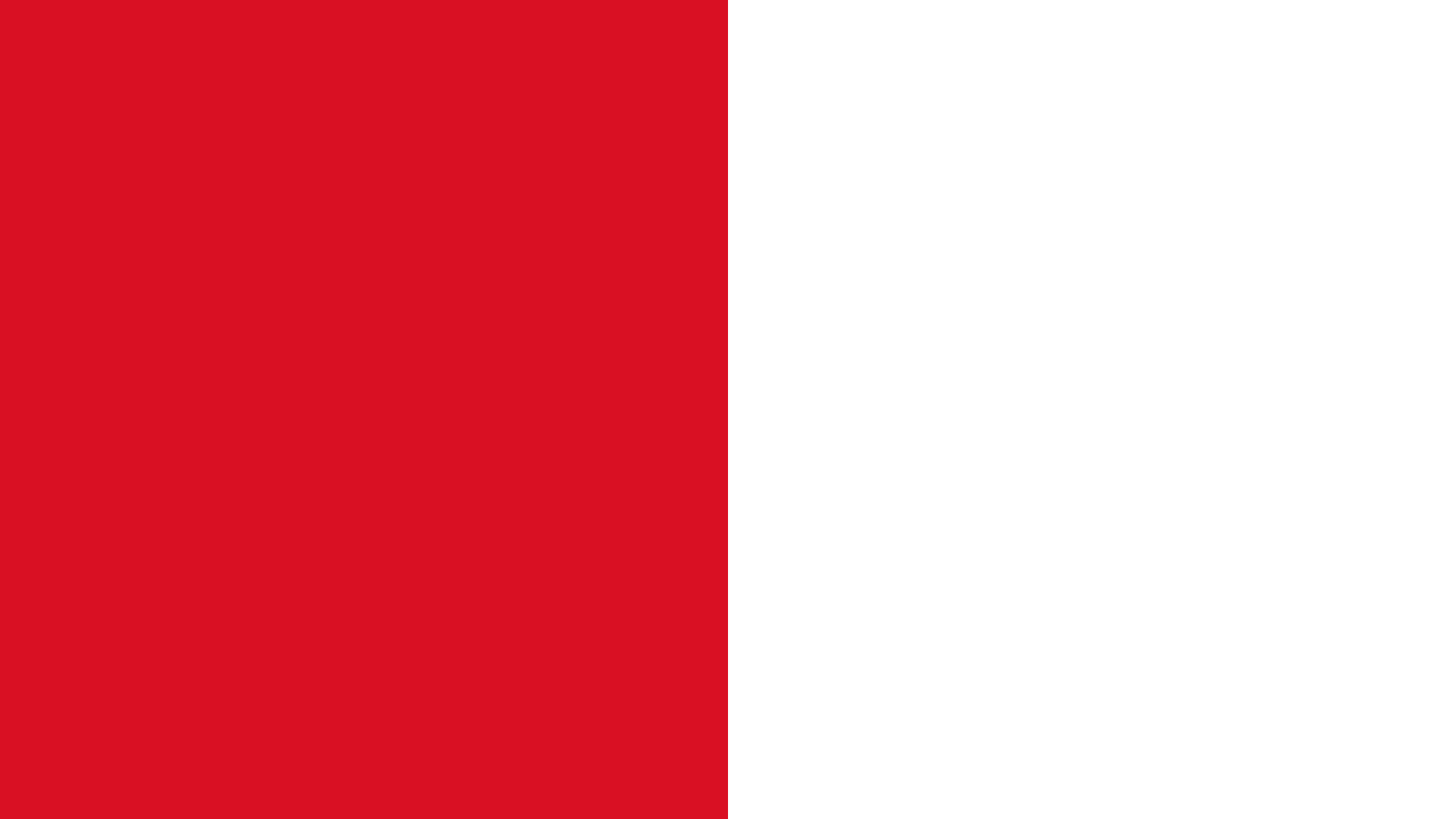 Peru Flag Color Palette