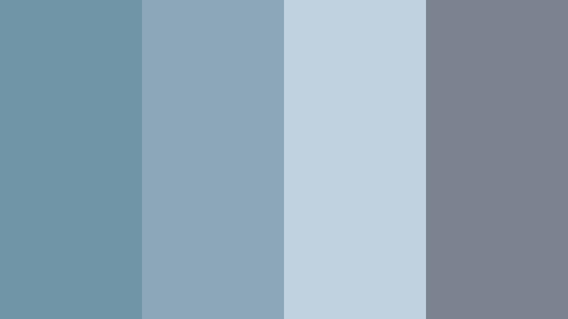 Pewter Blues Color Palette