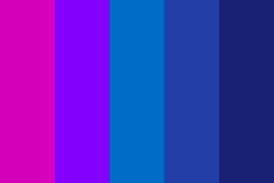 Pink And Blue Color Palette