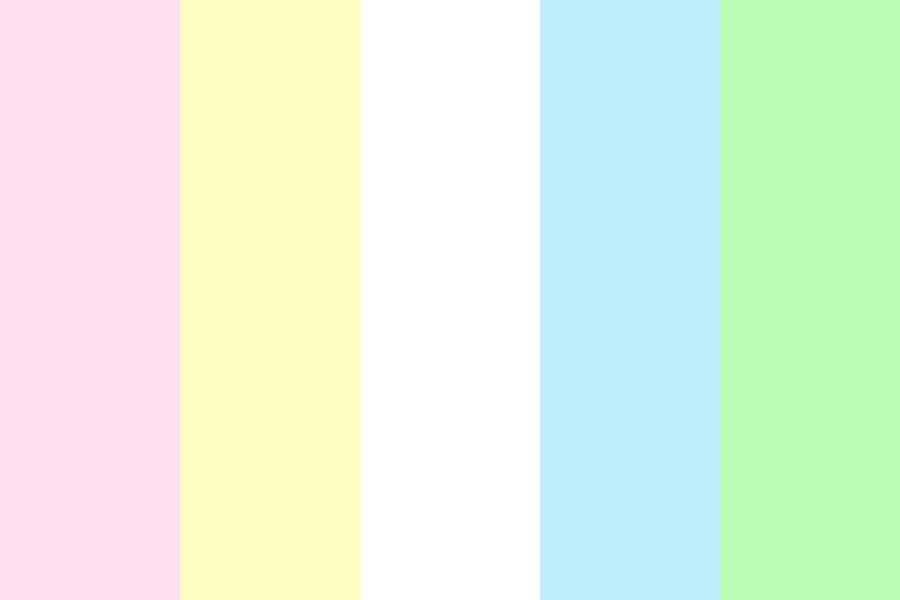 Pink And Yellow Color Palette