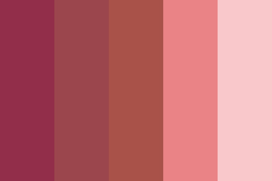 Pink Apples Color Palette