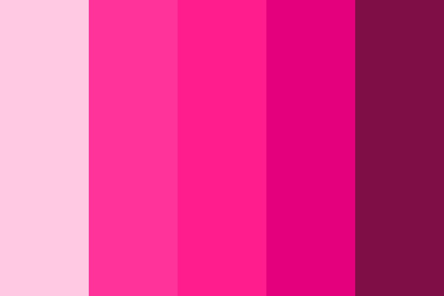 Pink Buffalo   Approved Pinks Color Palette