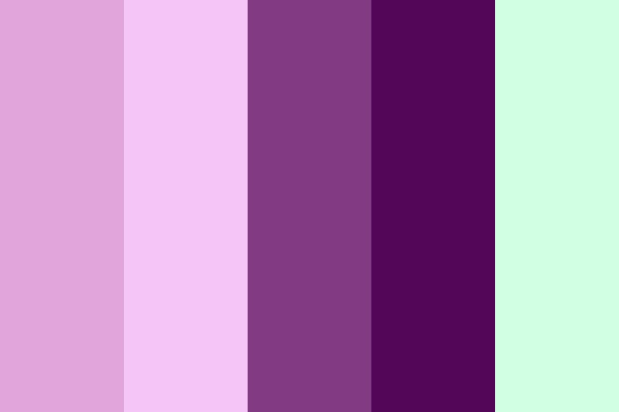 Pink Calla Lilly Color Palette