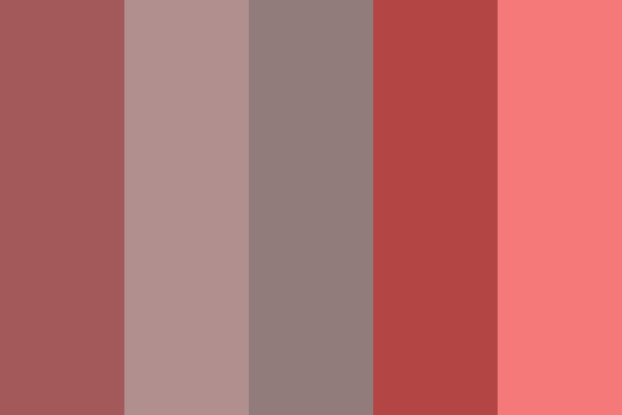 Pink Collection Color Palette