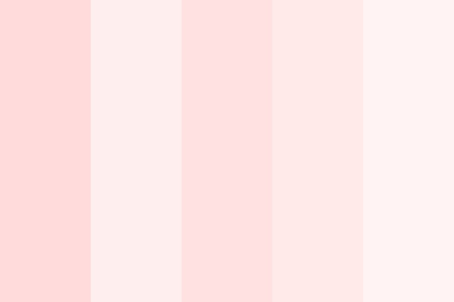 Pink Cotton Candy Color Palette