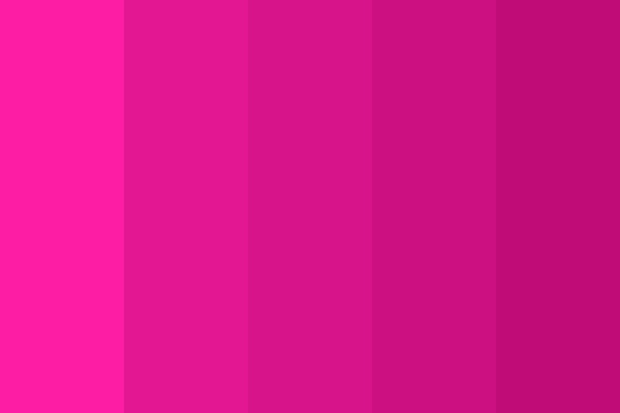 Pink Downs Color Palette