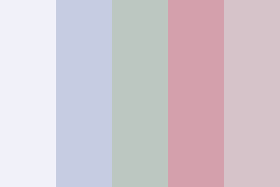 Pink Hair And Gummy Smiles Color Palette