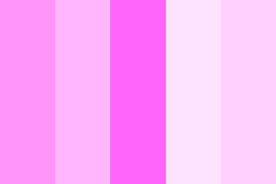 Pink Kisses Color Palette
