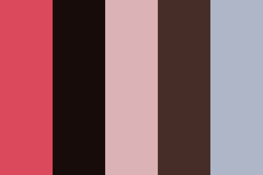Pink Mountains Color Palette