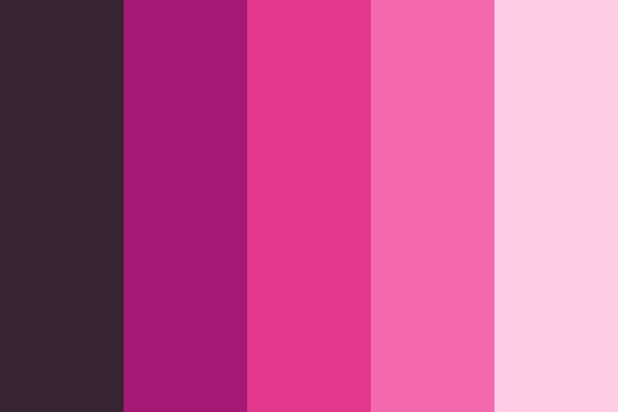 Pink Signs Color Palette