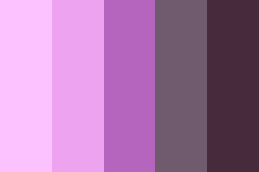 Pink To Gray Color Palette