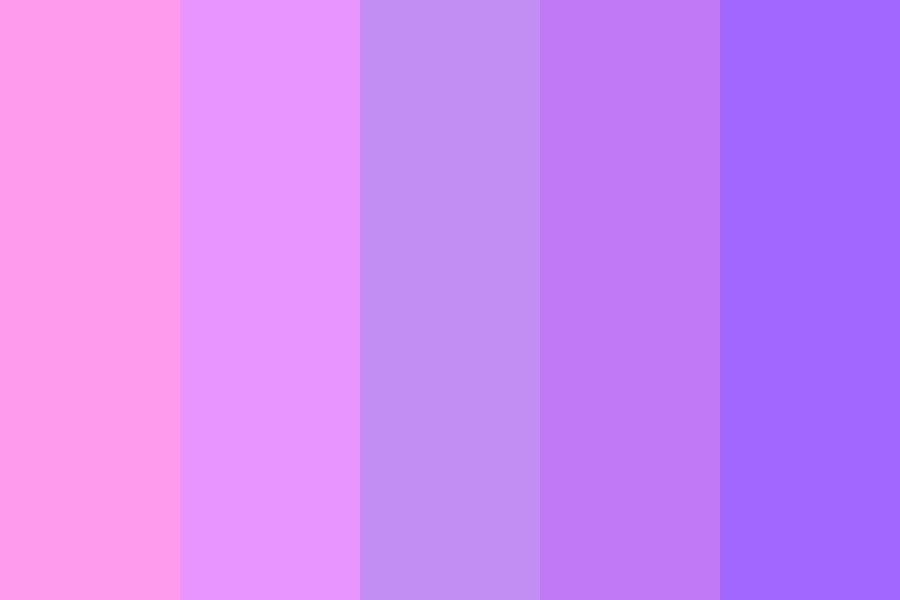 Pink To Purple Color Palette