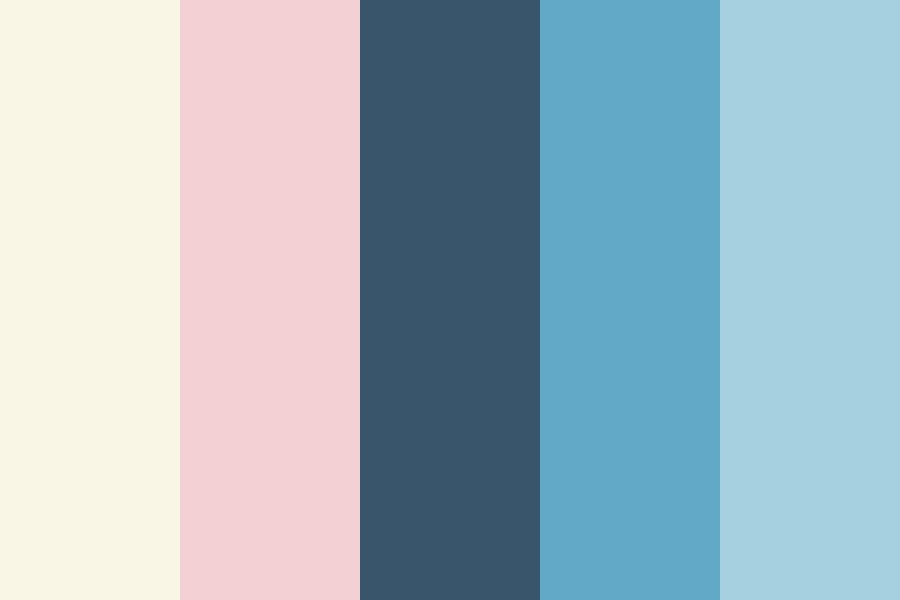 Pink Waters Color Palette