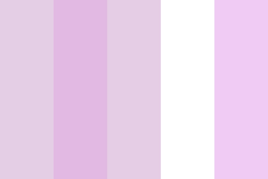 Pink With White Color Palette