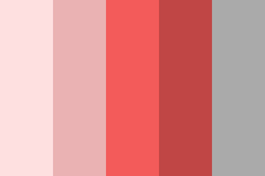 Pink red Color Palette