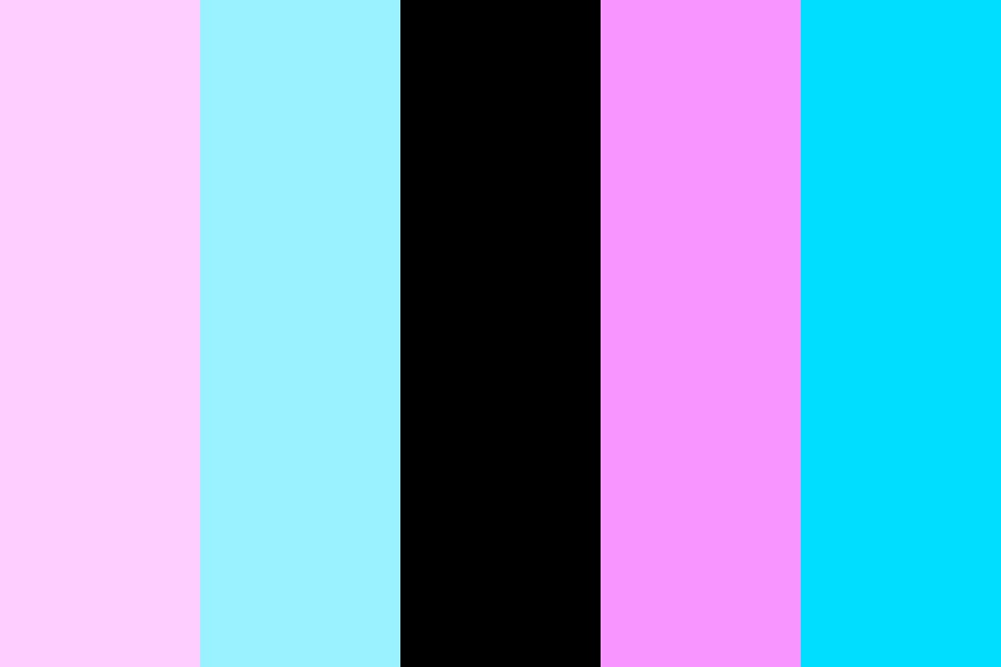 Pinks And Blues Color Palette