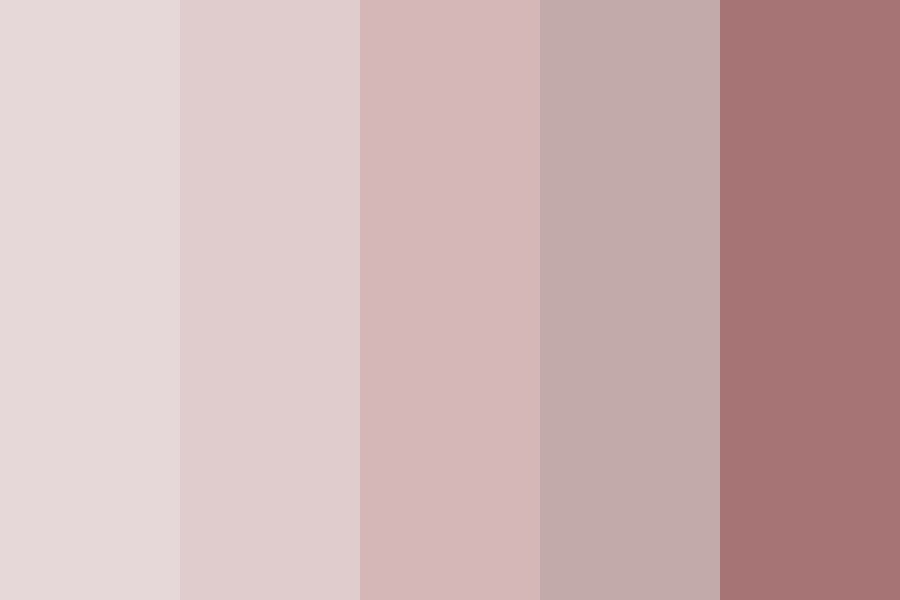 Pinky Nudes Color Palette
