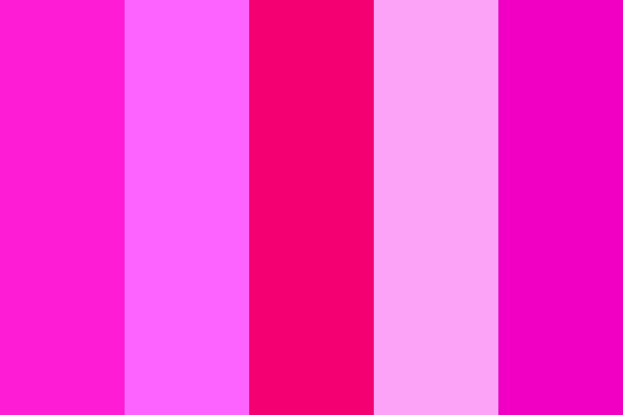 Pinky Pinkerton Color Palette