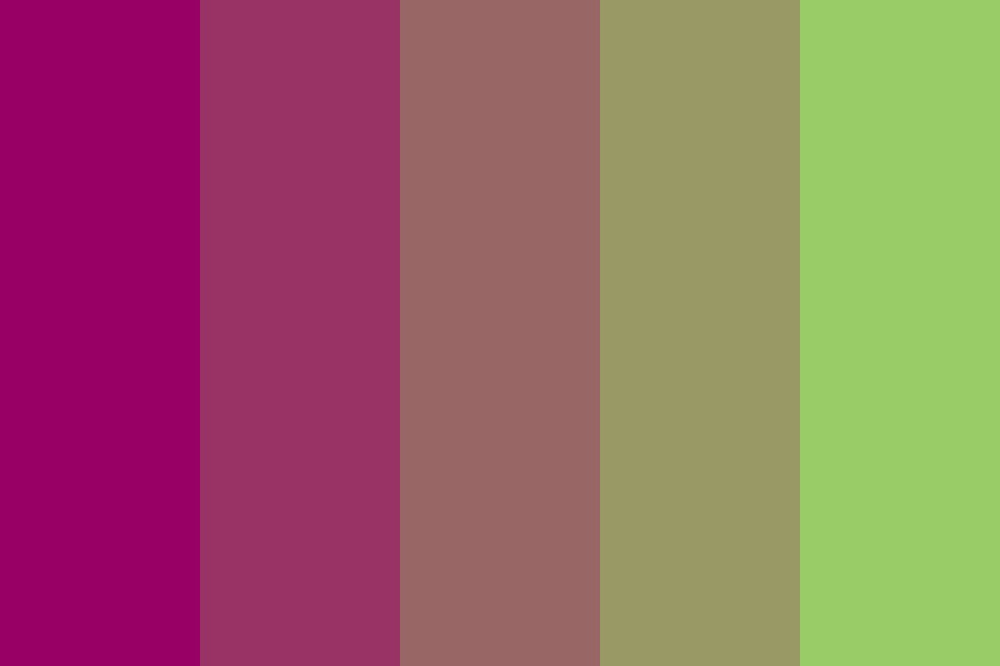 Pinky green Potion Color Palette