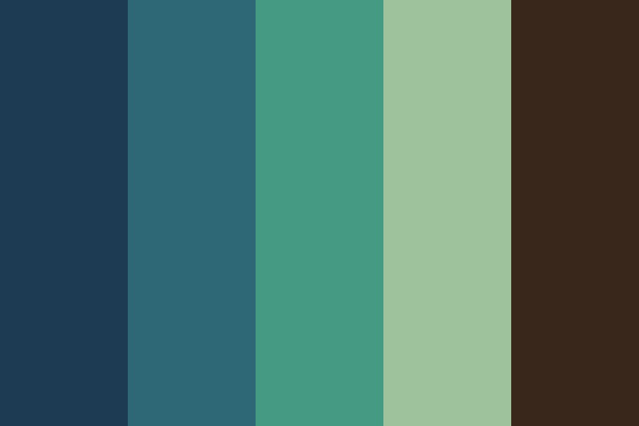 Pixelated Forest Color Palette