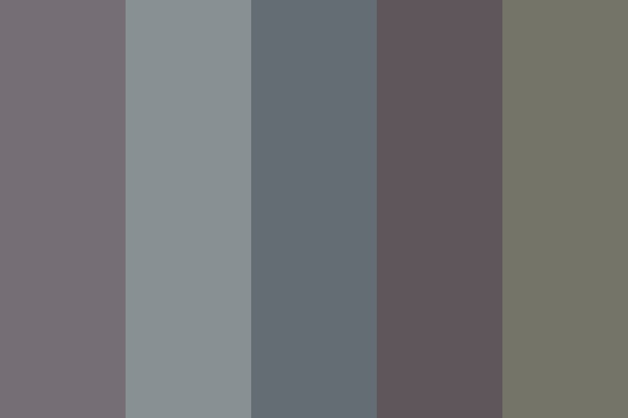 Plastic Silverware Color Palette