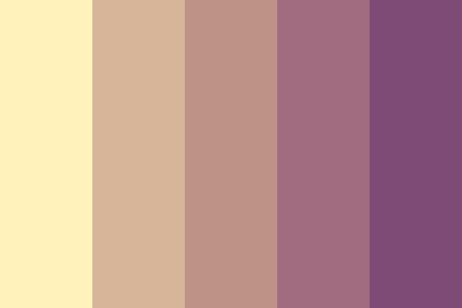 Please Never Fall In Love Again Color Palette