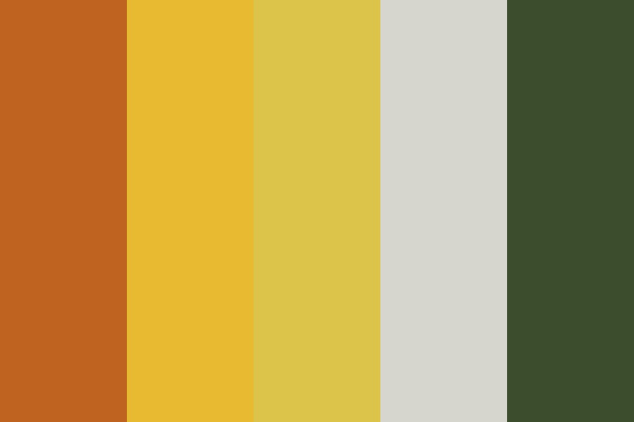 Plumeria Flower Color Palette