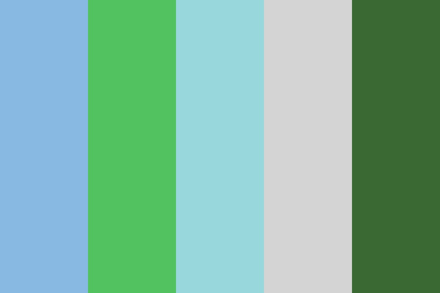 Polygon Nature Color Palette