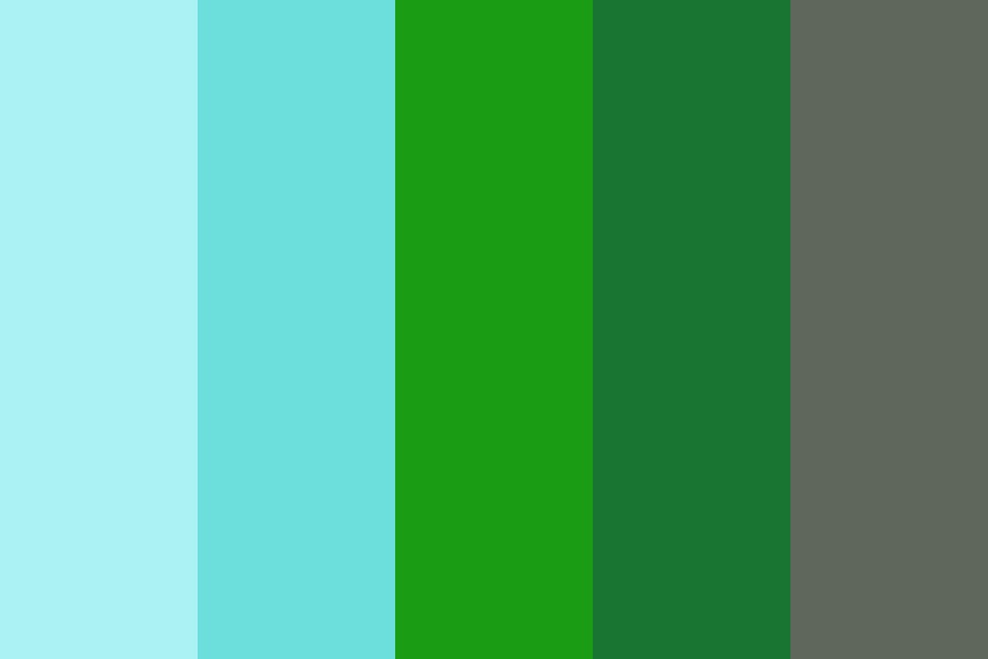 Pool In The Jungle Color Palette