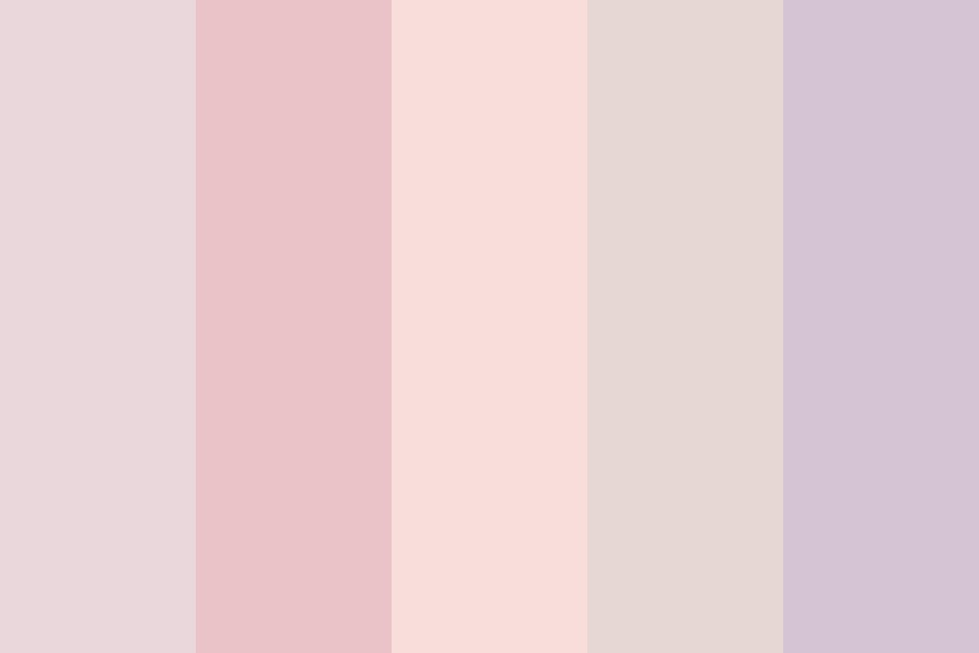 Powder Pink Color Palette