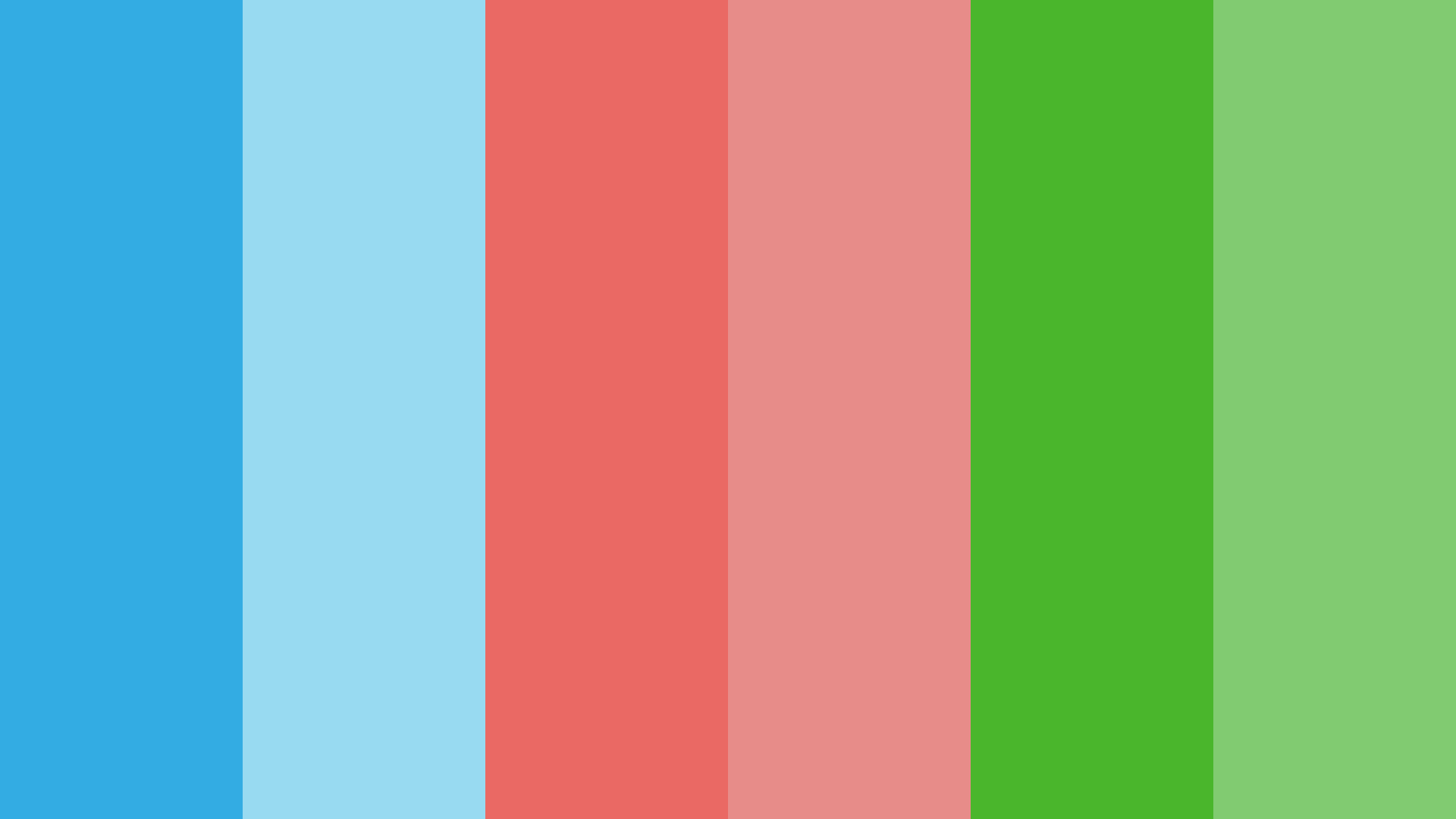 Powerpuff Girls Theme Color Palette