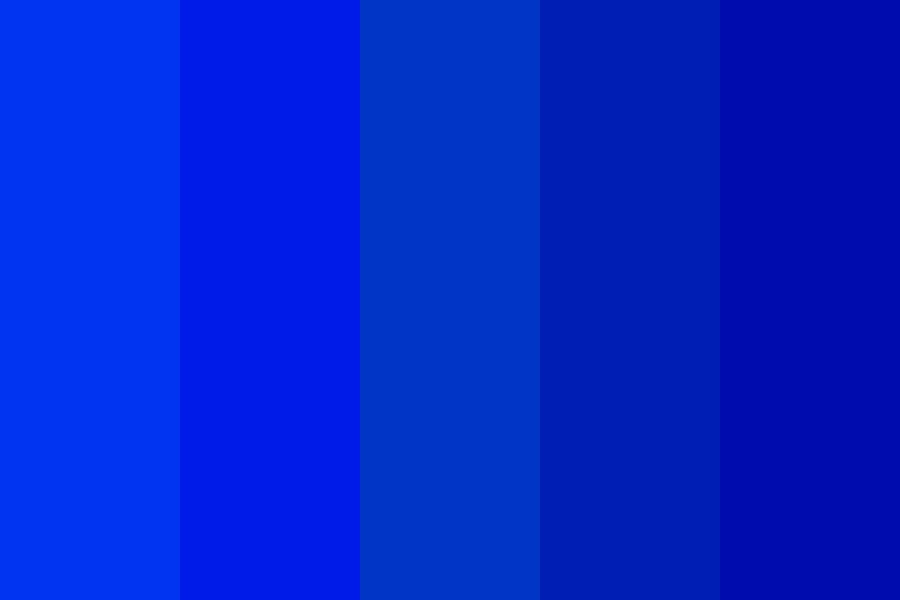 Pretty Blue Color Palette