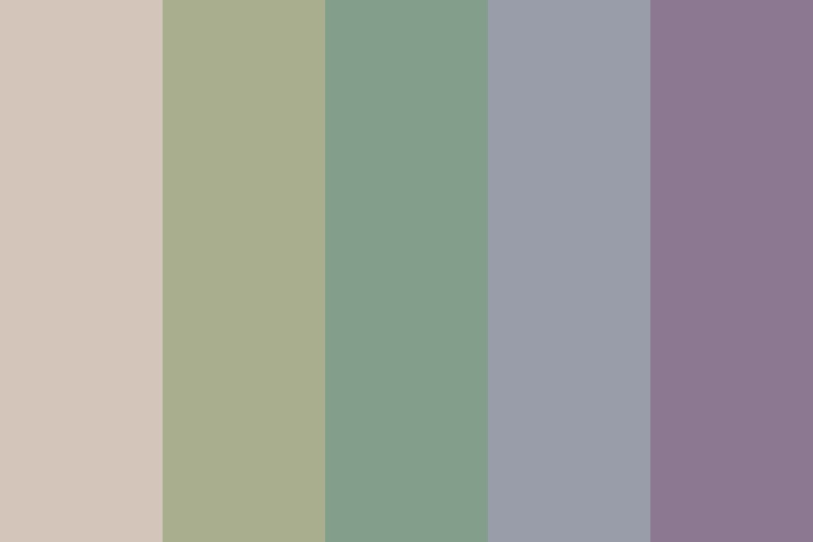Pretty Dull Color Palette