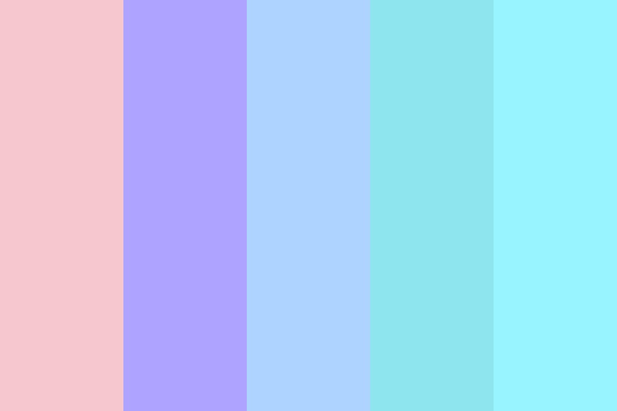 Pretty Girls And Flowers Color Palette
