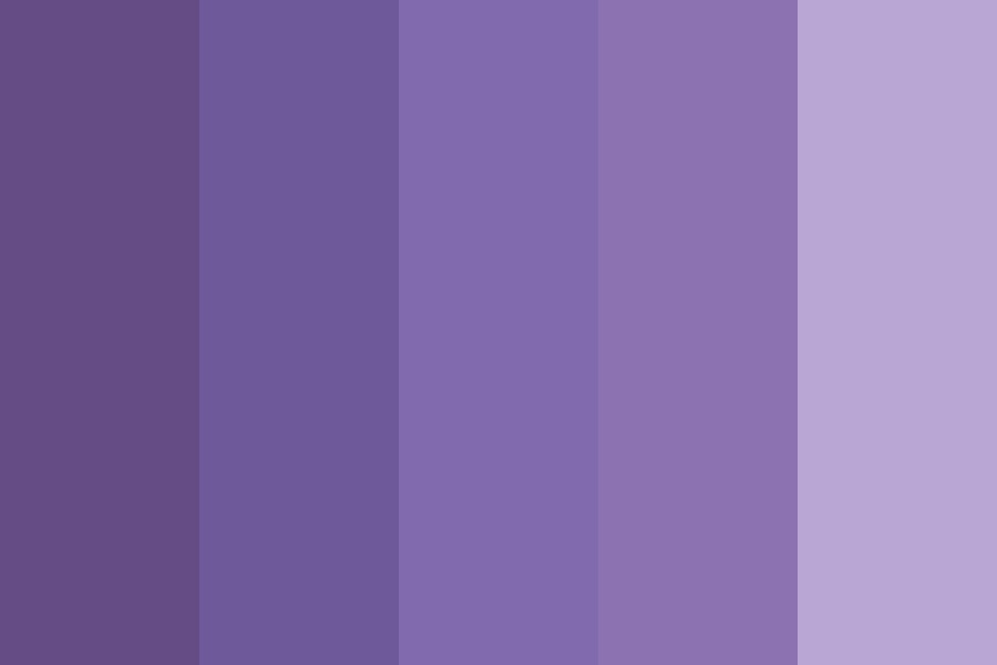 Pretty In Lavender Color Palette