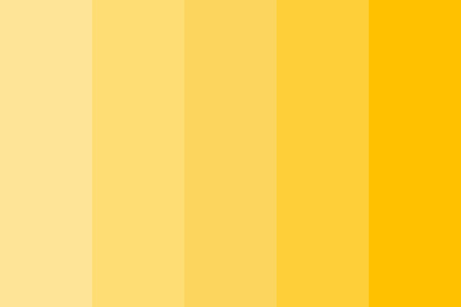 Pretty Sunflowers Color Palette