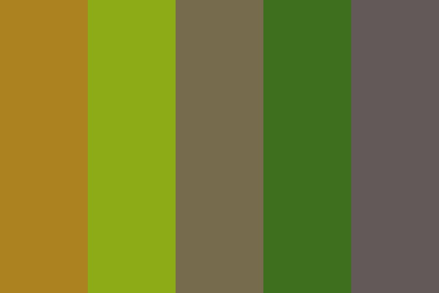 Primary Research Inspired Palette Color Palette