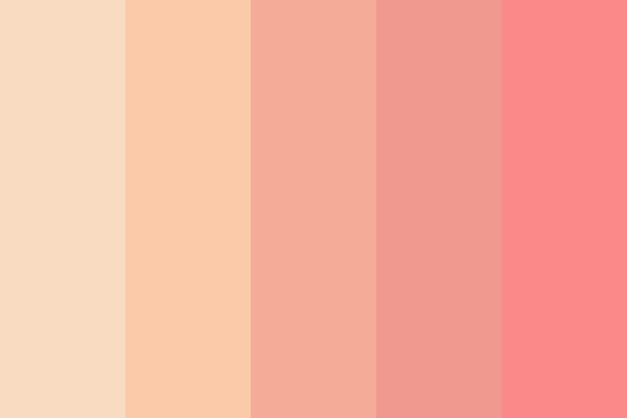 Princess Peachy Keen Color Palette