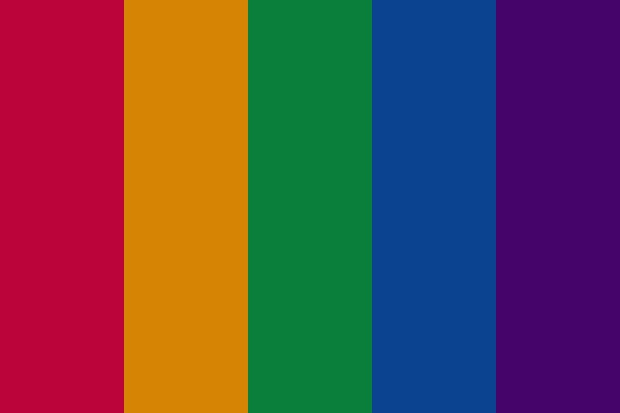 Printablerainbow Color Palette