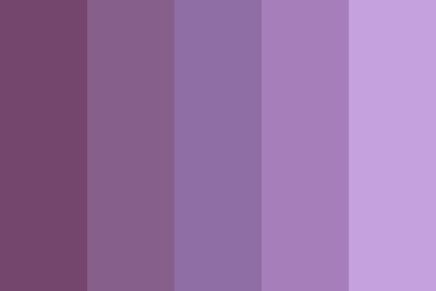 Prize Purple Color Palette