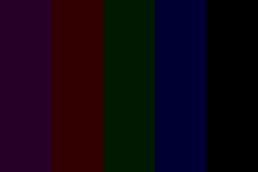 Pure Dark Color Palette