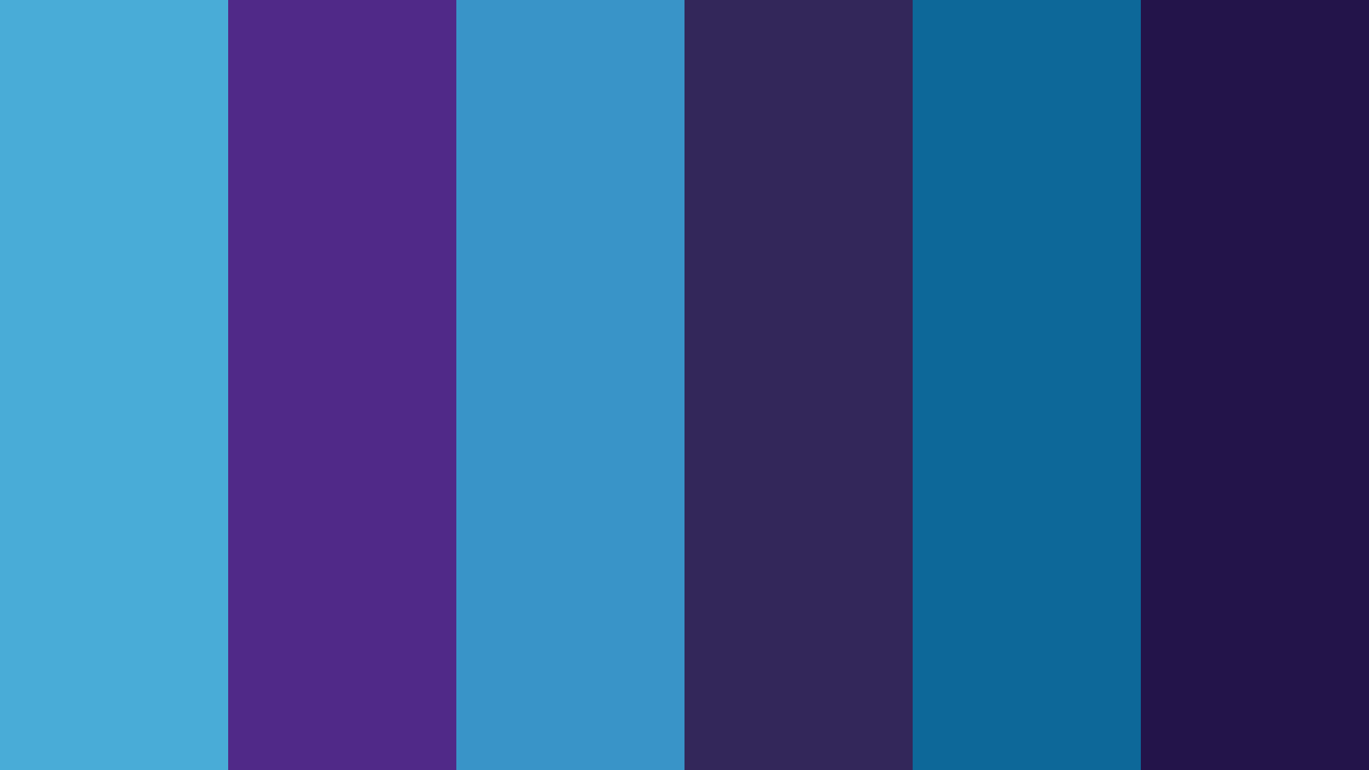 Purple And Blue Swing Color Palette