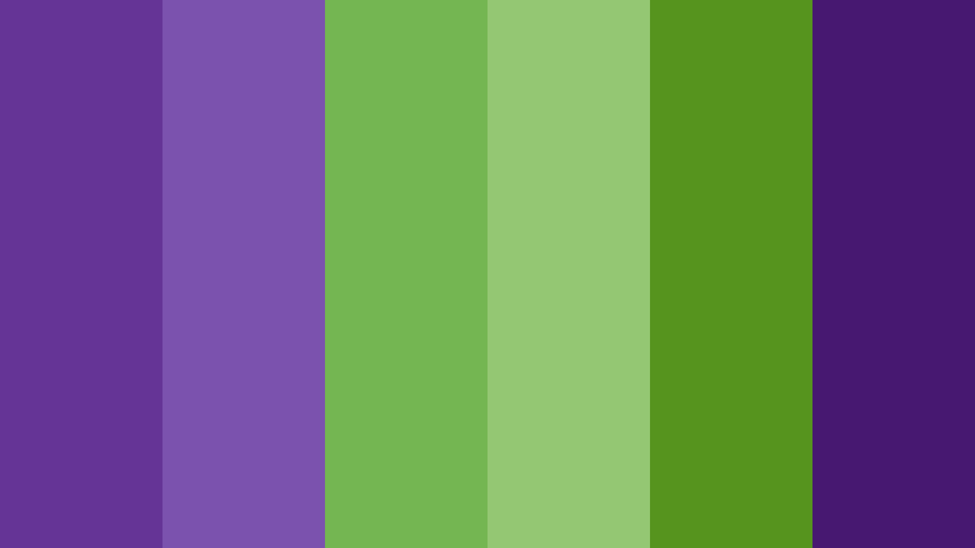 Purple And Green Color Palette