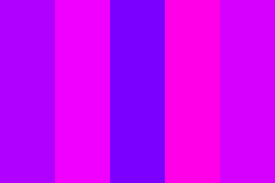 Purple And Pink Color Palette