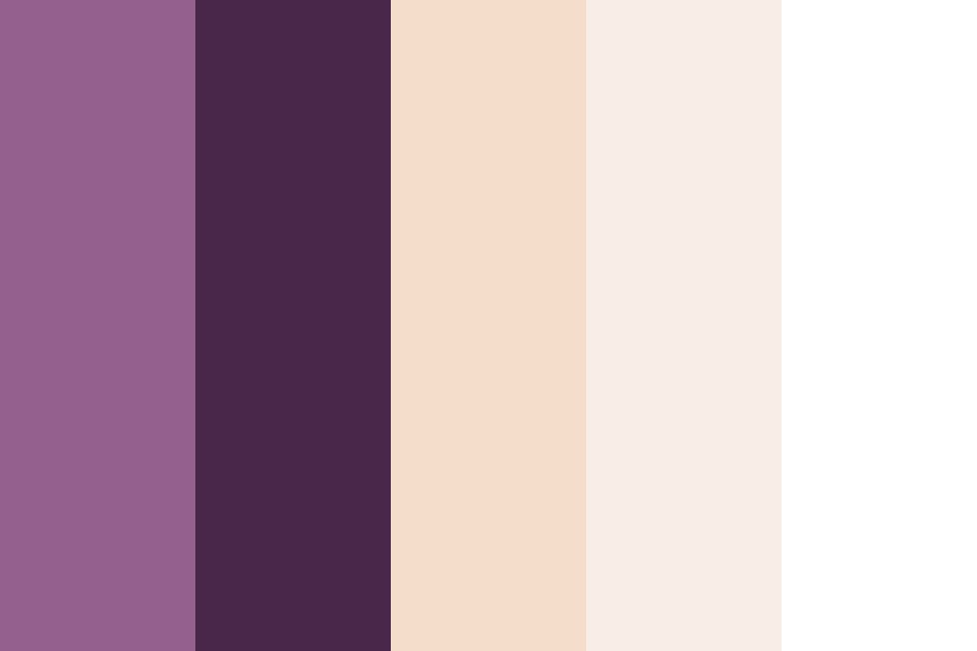 Purple And Tan Color Palette