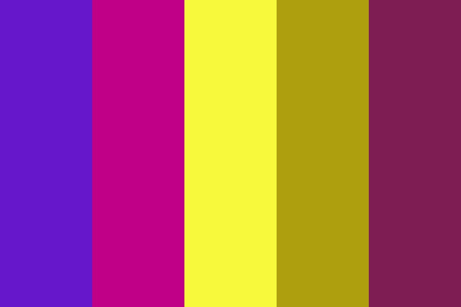 Purple And Yellow Color Palette