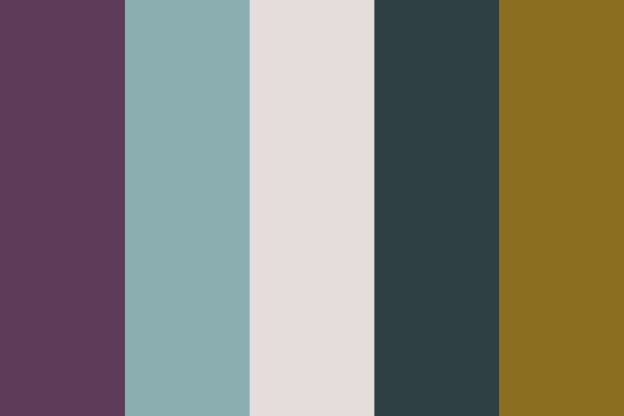 Purple Blue Yellow Color Palette
