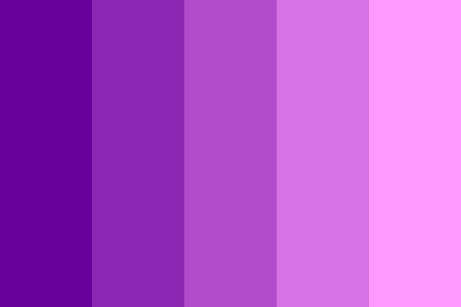 Purple City Color Palette